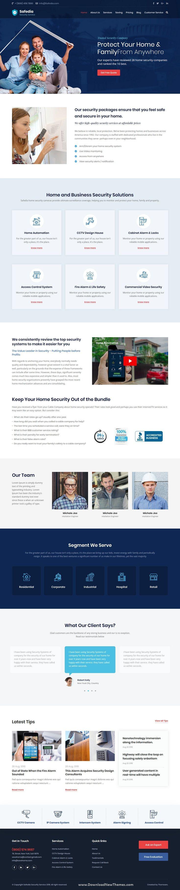 Safedia Security Html Template Web Design Inspiration Templates Design
