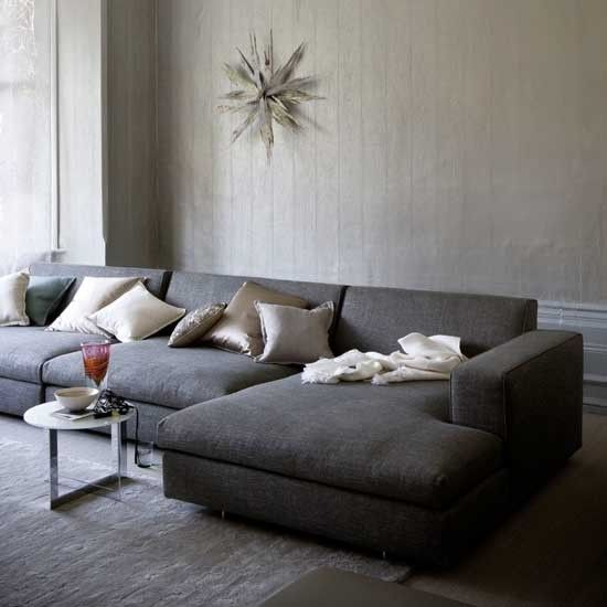 wohnideen zimmer htte, grau wohnzimmer wohnideen living ideas interiors decoration | sofa, Design ideen