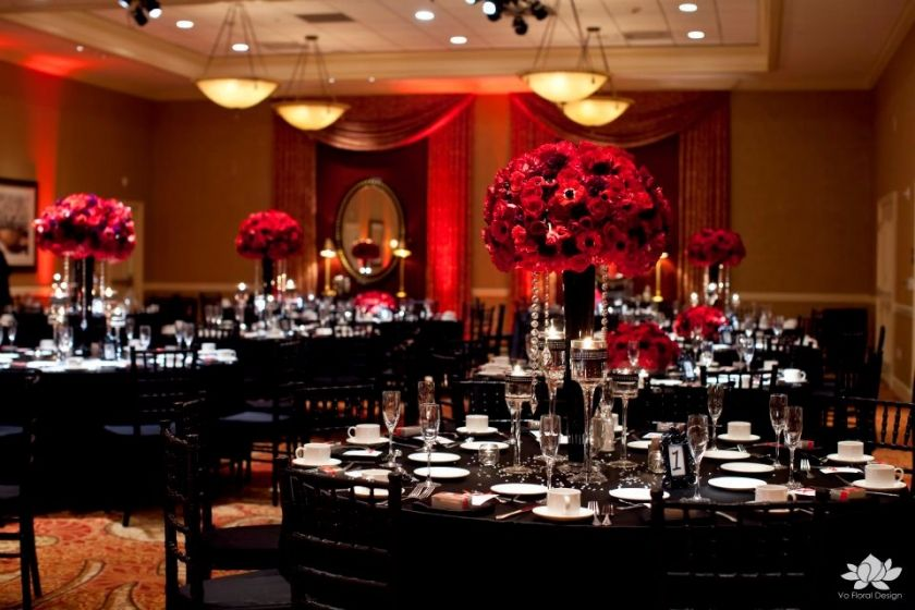 black and red reception | Displaying (15) Gallery Images For Red And ...