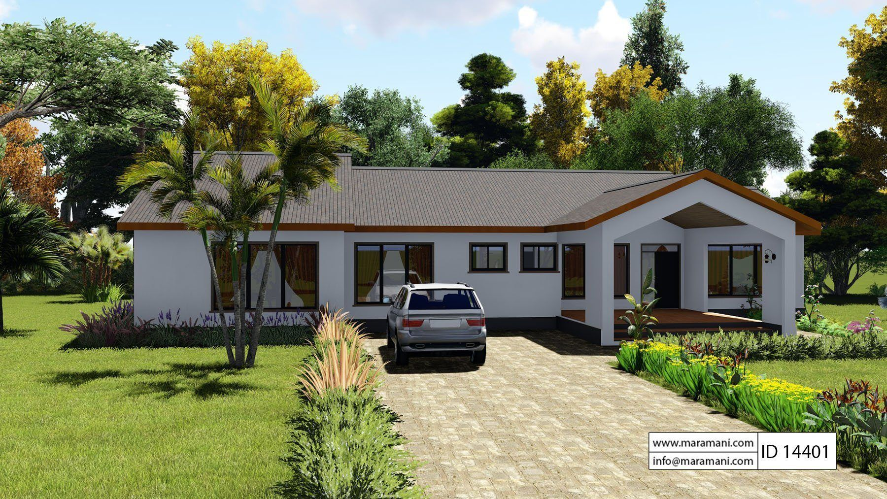 4 Bedroom House Plan Id 14401 Countryside House House Plans 4 Bedroom House Plans