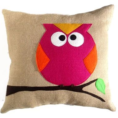 I love owls, this pillow is super cute. $75