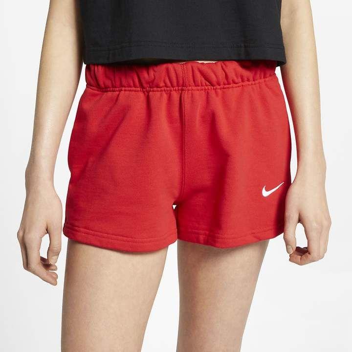 nike fleece womens shorts
