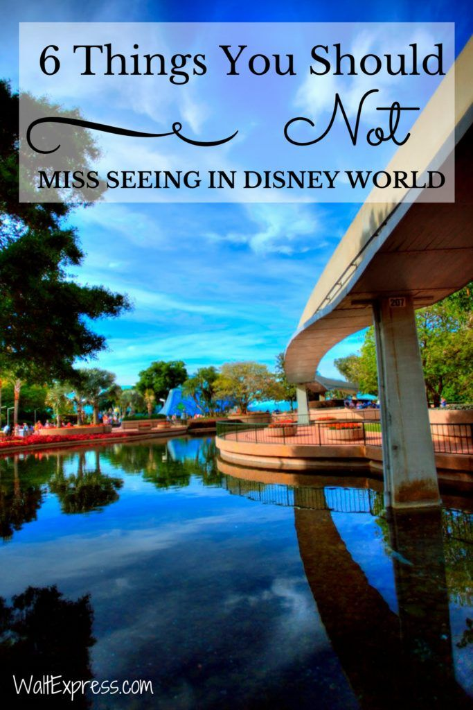 6 Things You Should Not Miss Seeing in Disney World! #DisneyWorld #Disney
