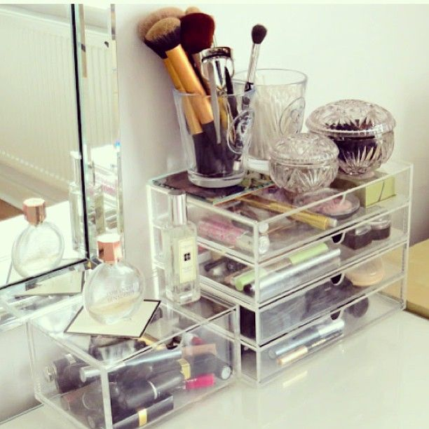 MUJI makeup storage | Rangement makeup, Coiffeuse, Organisation