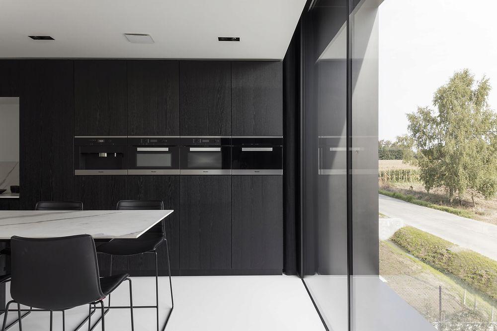 Moderne Keukens Gent : Francisca hautekeete architect gent h drongen huis keukens