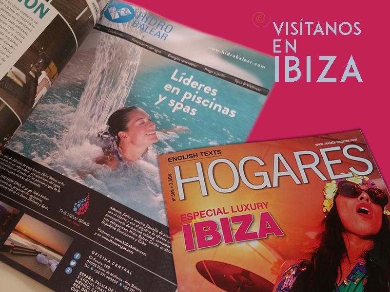 """Este mes estamos en la revista """"HOGARES IBIZA""""!!!  Visita nuestra tienda HIDRO BALEAR IBIZA, Agua y Jardín en: -Crta. aeropuerto KM. 6,50 · 07817-San Jordi · Ibiza · T.: 971 395 842- Horario de lunes a viernes: de 9.00 a 14.00h y de 16.00 a 19.00h http://www.hidrobalear.es/tienda-en-ibiza/"""