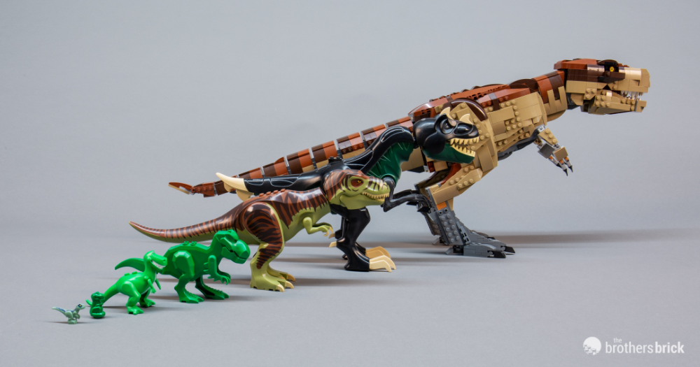 Lego 75936 Jurassic Park T Rex Rampage The Biggest Lego Dino Ever Review Interview The Brothers Brick In 2020 Big Lego Lego Dinosaur Lego Jurassic World
