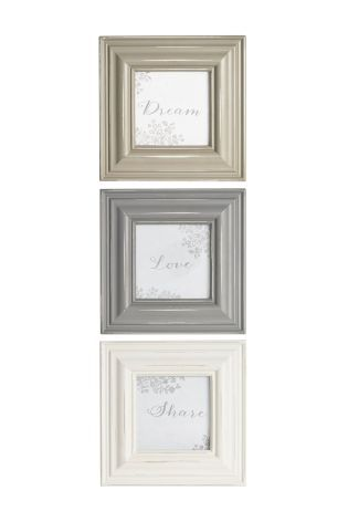 Buy Set Of 3 Distressed Frames online today at Next: Rep. of Ireland ...