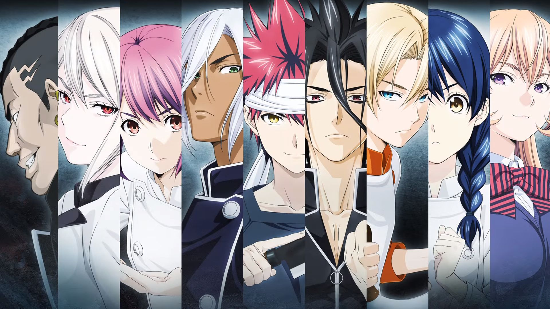 Rivals Anime, Food wars, Anime episodes
