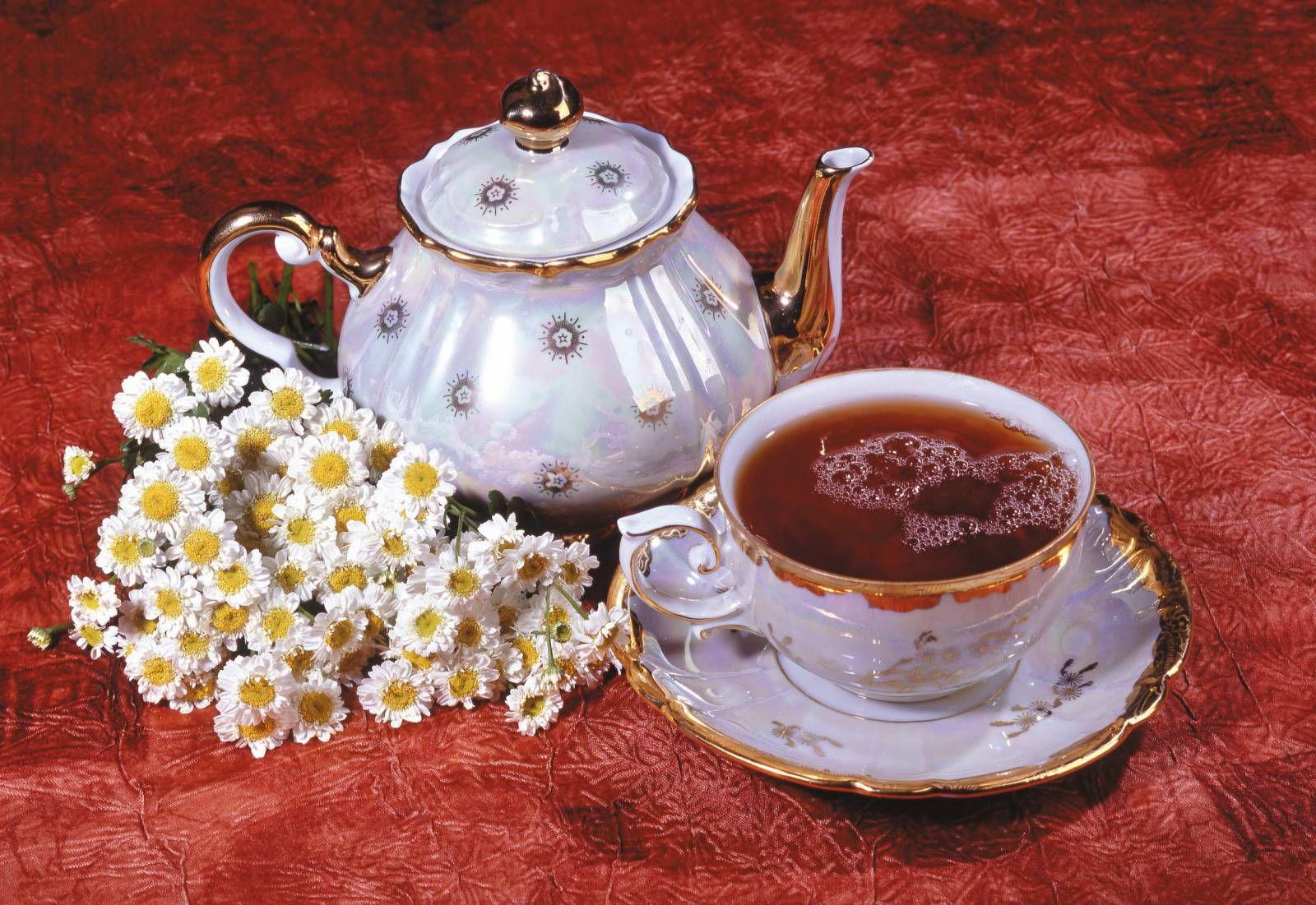 Открытка чайная чашка, открытки день