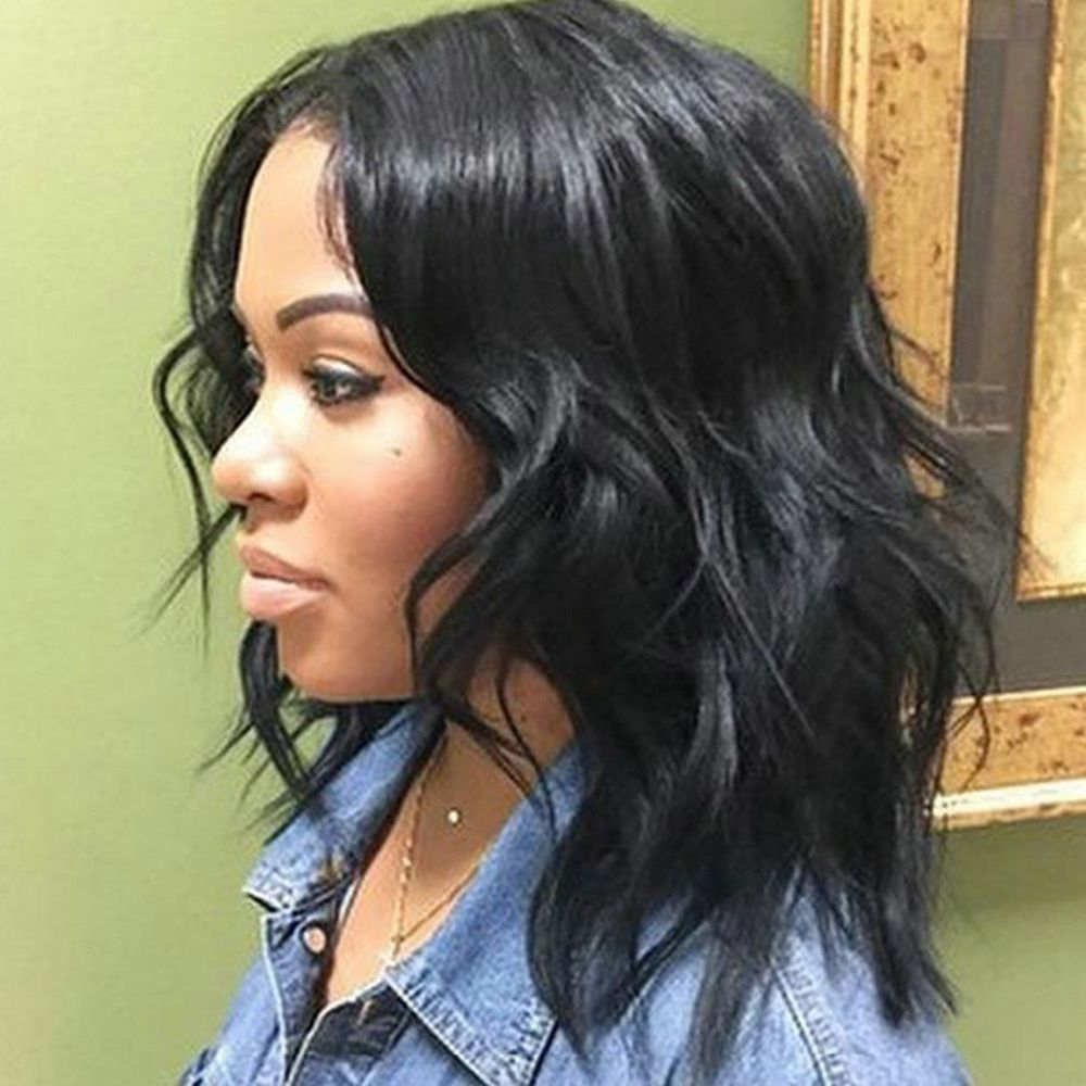 Shoulder Length Weave Hairstyles For Black Women 50 Best Medium Hairstyles For Black African Amer Medium Hair Styles Medium Length Hair Styles Weave Hairstyles