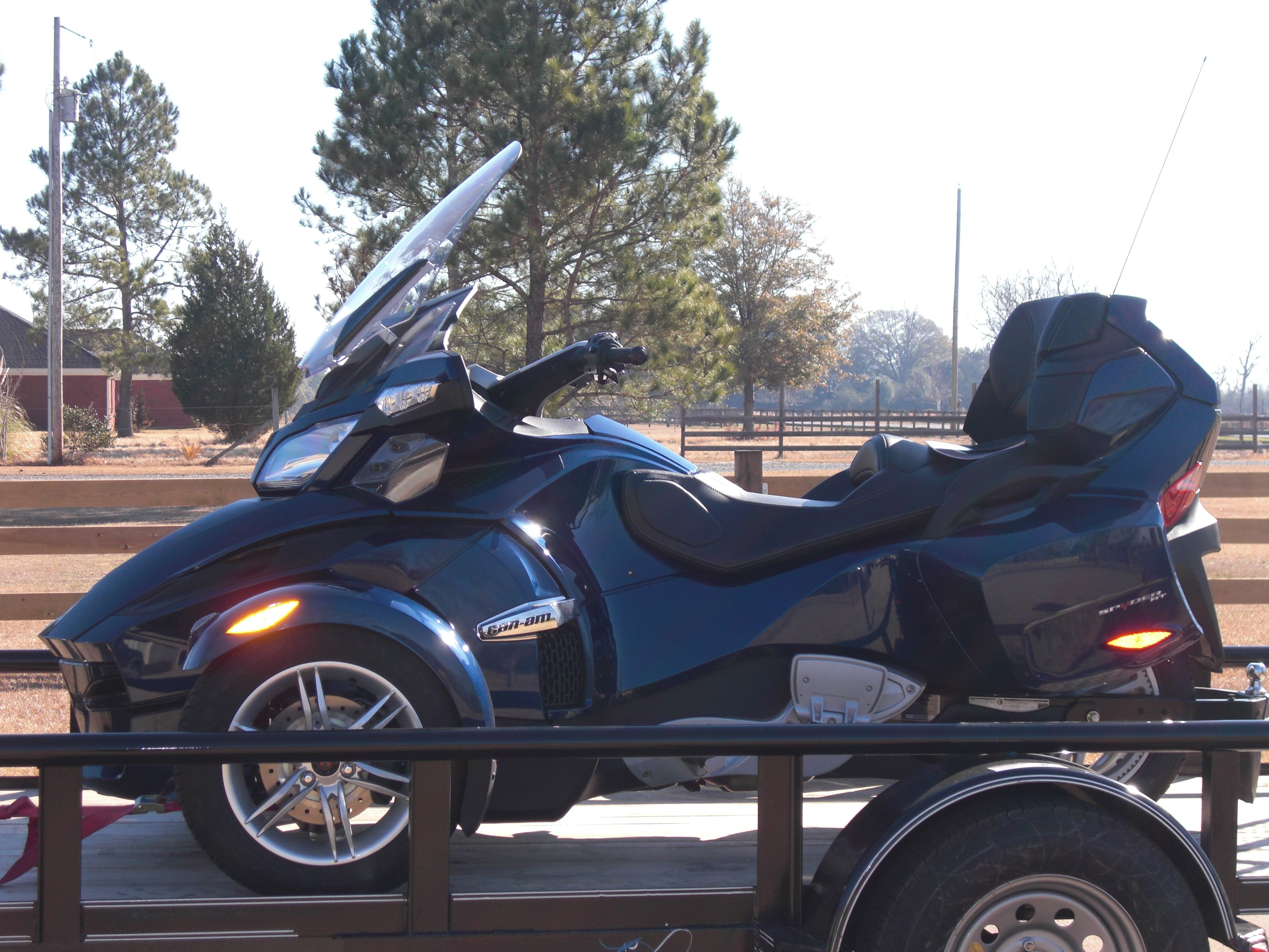 2010 Can Am, my first motorcycle