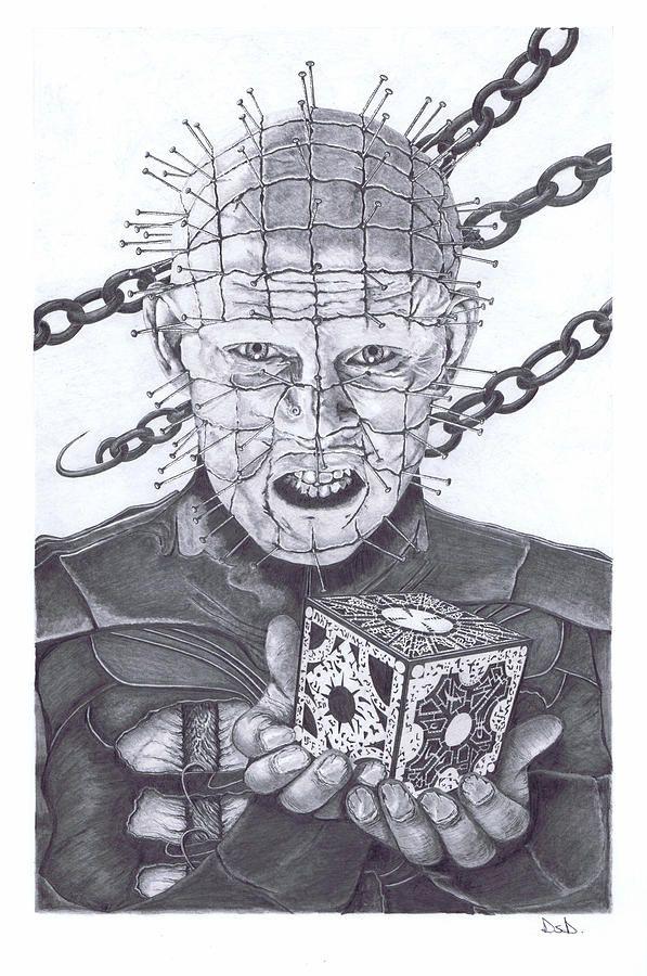 Hellraiser Canvas Print Canvas Art By Dave Dudley Horror