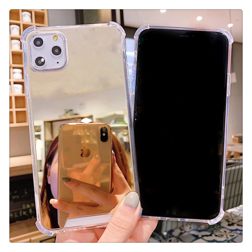 Luxury Clear Makeup Mirror Phone Case For IPhone Series in