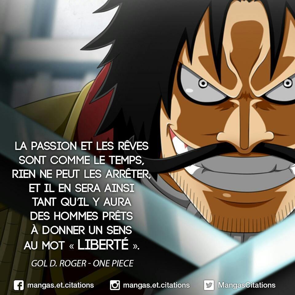 One Piece Gold Roger Citation