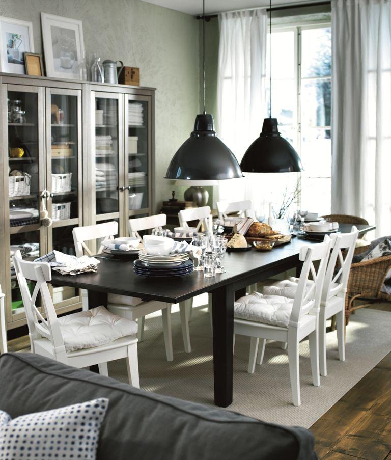 IKEA Oturma odası Salon Sofra keyfi! | Muebles de comedor