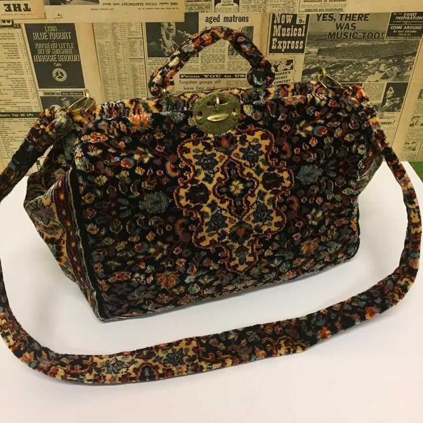 Stunning Gladstone Carpet Bag Tapestry Handbag Travel By Bags Uk Ebay