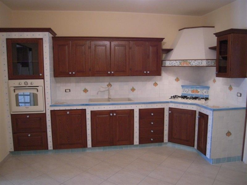 Mobili decorati ~ Cucina in muratura  g mobili decorati