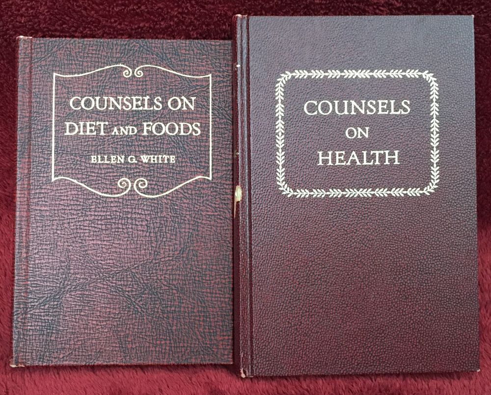 Ellen g white duo counsels on diet and foods counsels on health sda books