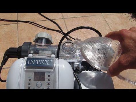 Montage de mon filtre sable intex youtube piscine - Nettoyage filtre a sable piscine ...