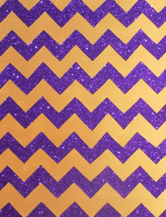Glitter Chevron LAKERS