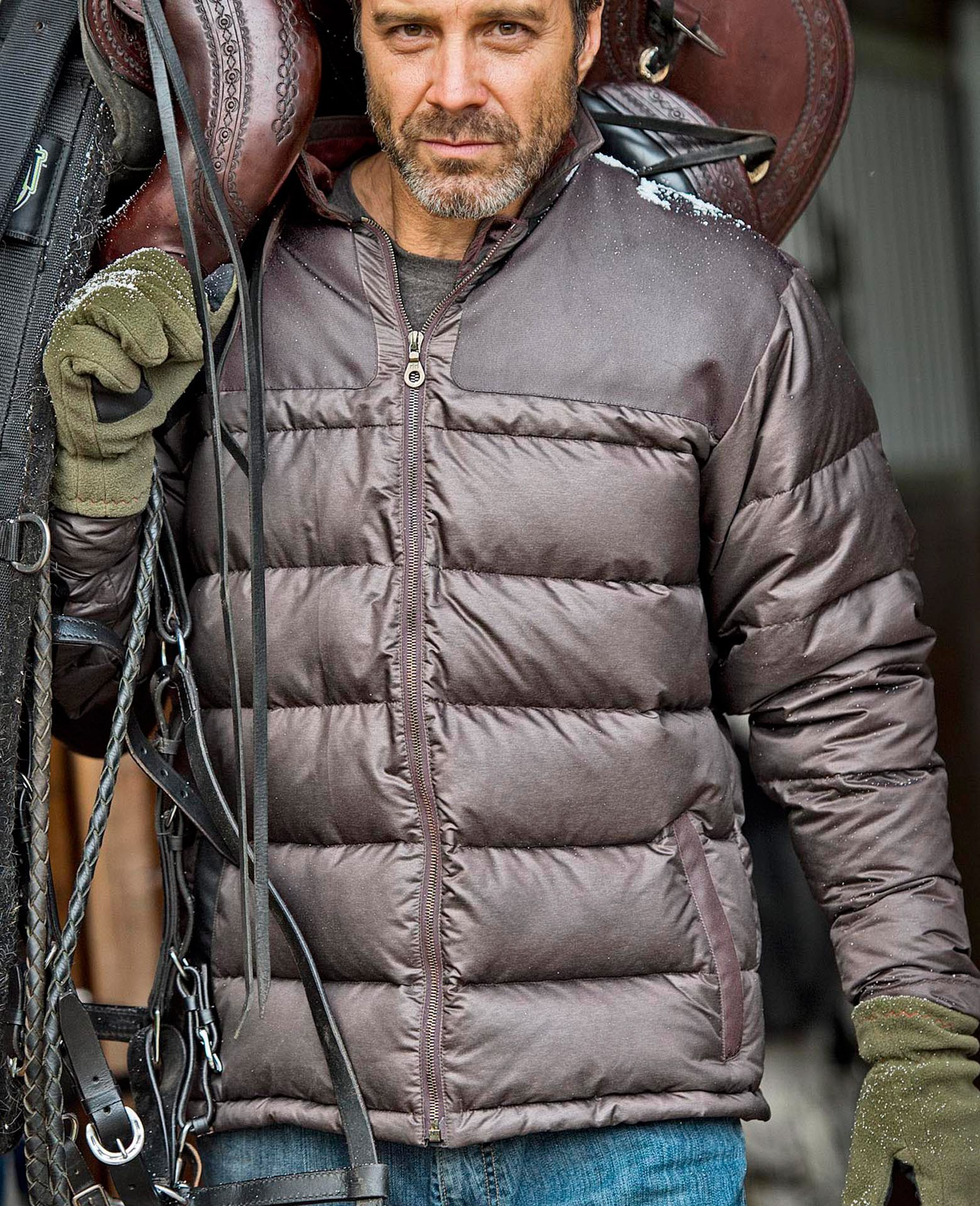 vintage down jacket 1816 by remington the 1816 heritage