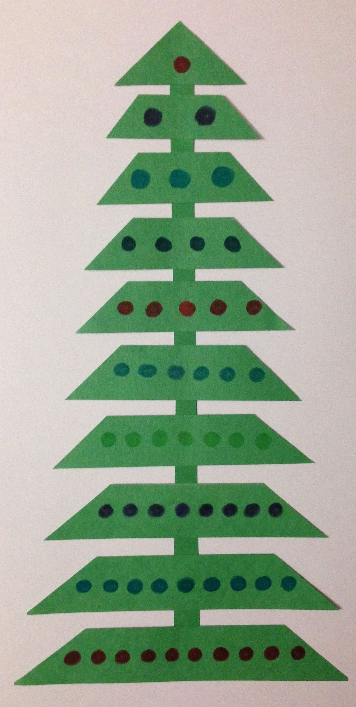 Students Can Create A Christmas Tree Craft And Practice