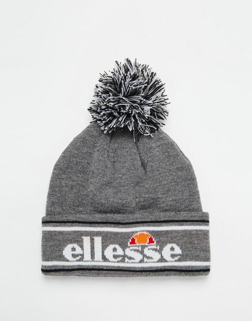Image 1 of Ellesse Bobble Beanie  63707e232a4