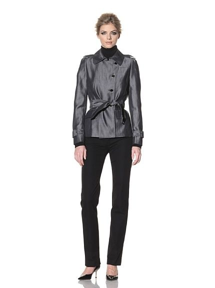 Rachel Roy Cropped Trench