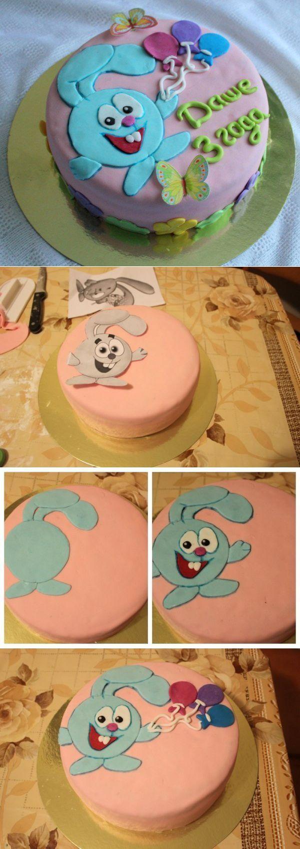 Детский тортик своими руками фото 389