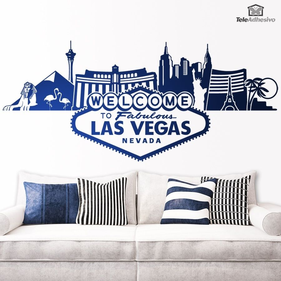 Wall Stickers Las Vegas Vegas Skyline Las Vegas Las Vegas City [ 900 x 900 Pixel ]