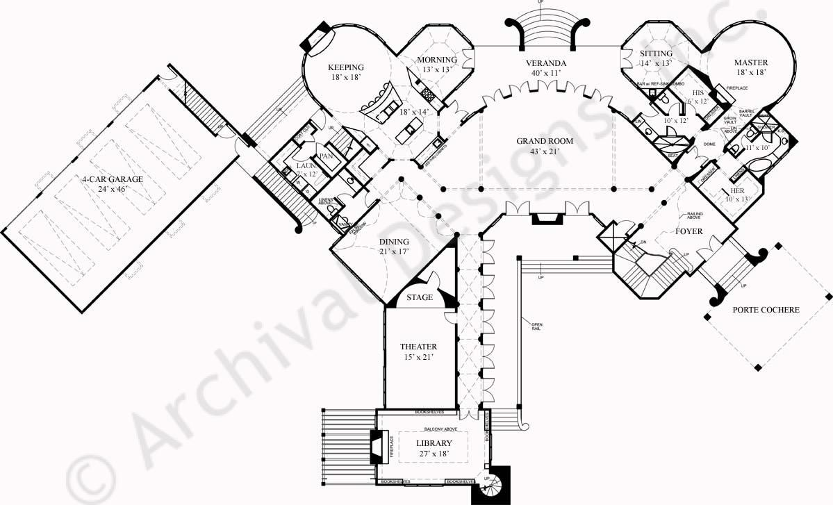 French Chateau House Plans Design Inspirations