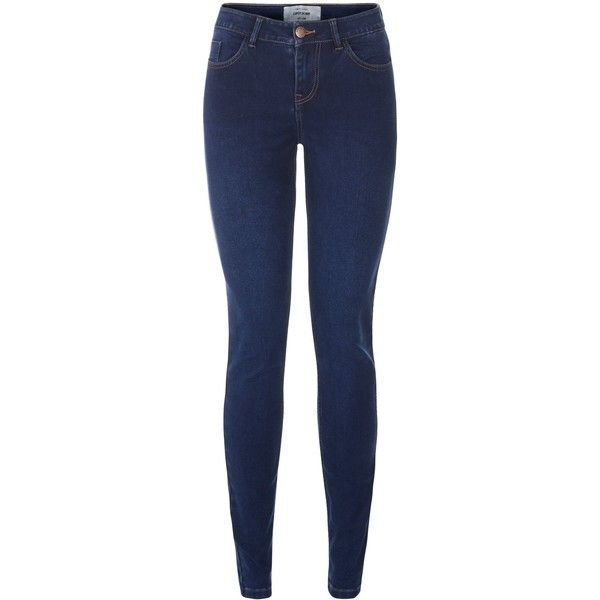 Dark blue super soft super skinny jeans