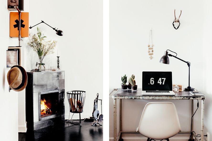 Interieurs: Industrieel met zwart/wit