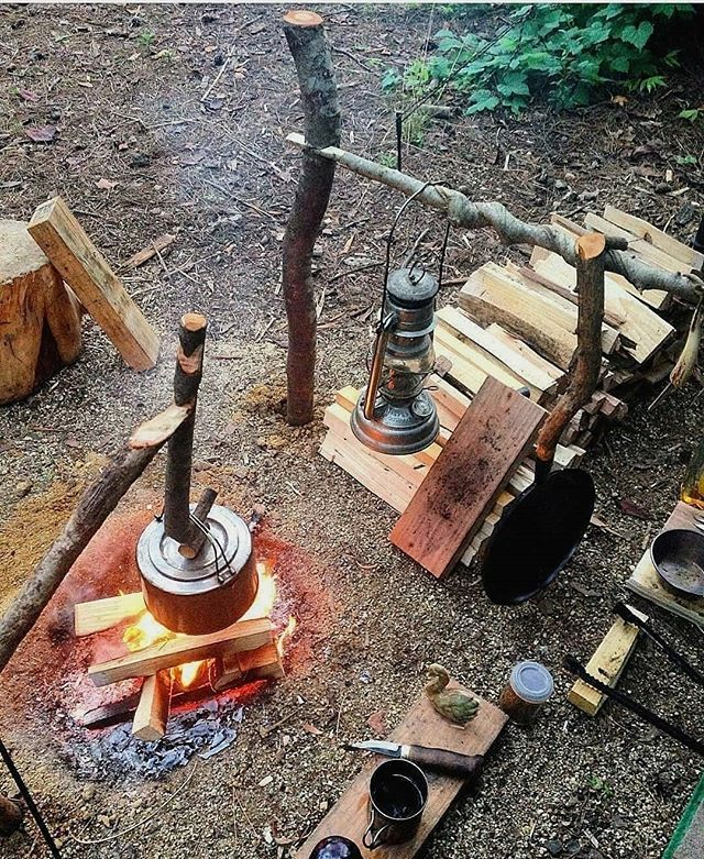Bushcraft Survival Skills: What Would You Change At This Camp? Comment One Item From