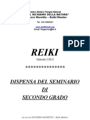 Dispensa REIKI 1° – 2° e 3° Livello – Sennar Karu
