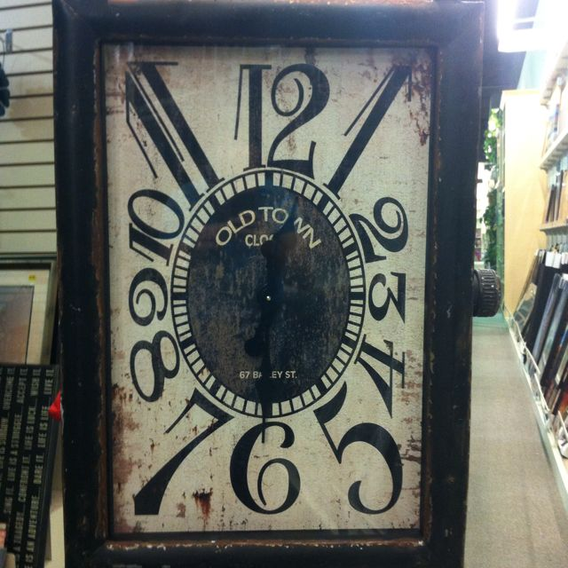 Wall Clock. Gordmans. Love It