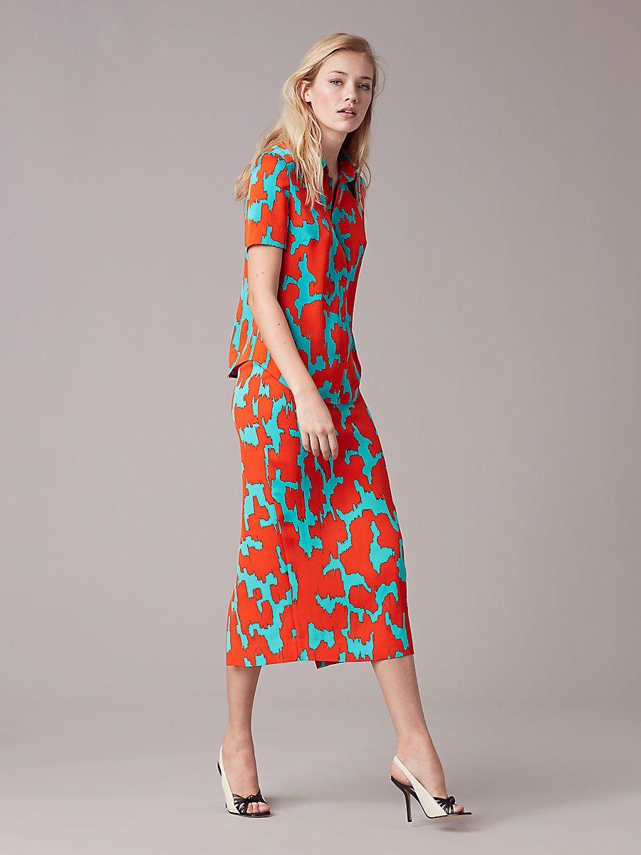 Tailored Midi Pencil Skirt | Midi pencil skirts, Landing and ...