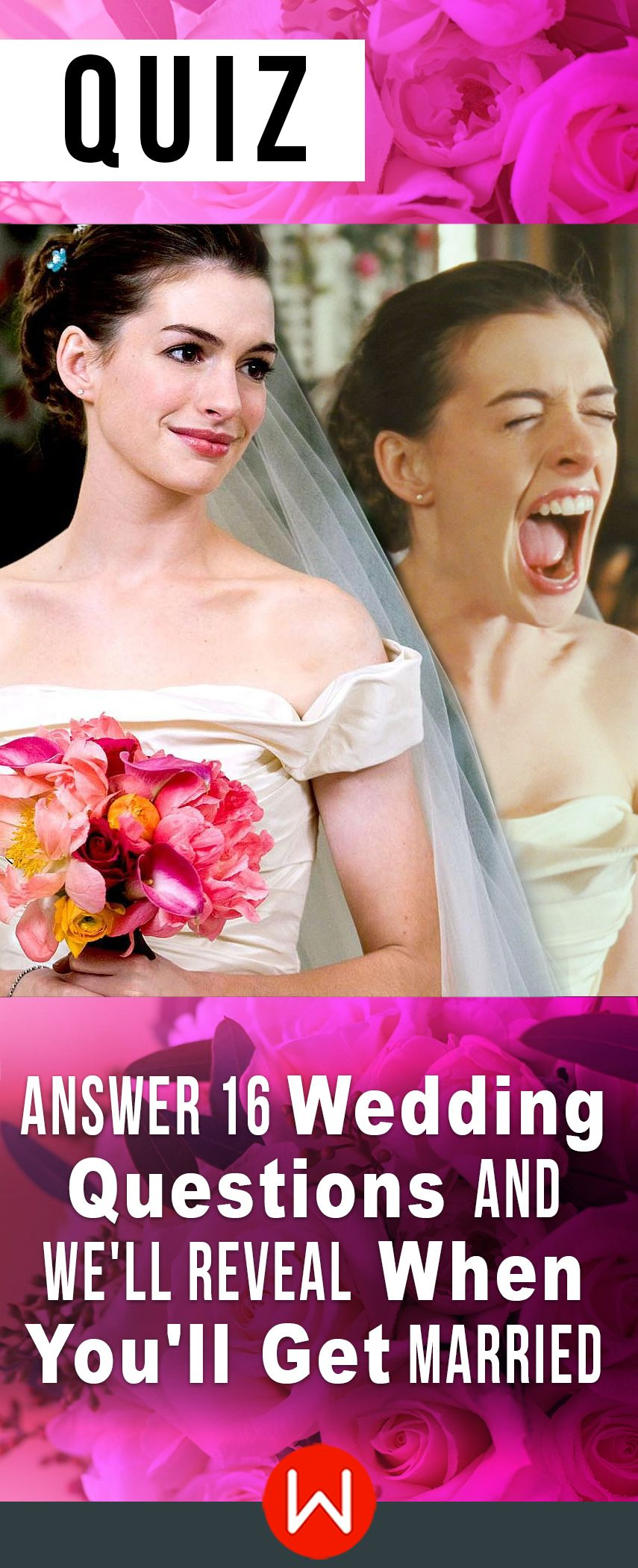 Quiz: Answer 16 Wedding Questions And We'll Reveal When You'll Get