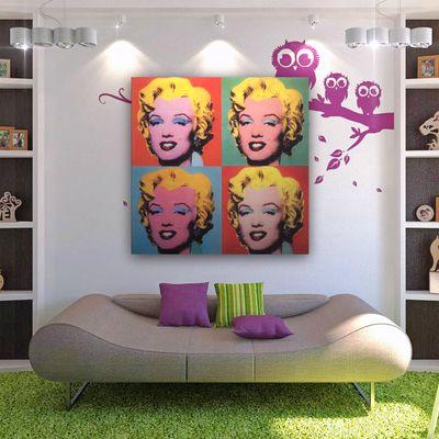 Marilyn siempre presente #decoración #hogar #ideashabitissimo