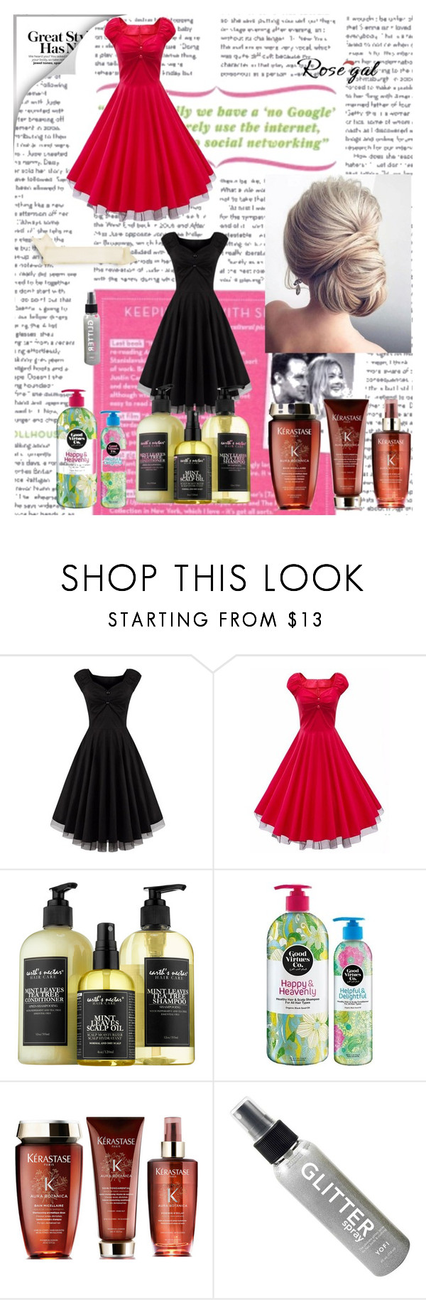 """""""Fashion set rosegal"""" by aneto-j ❤ liked on Polyvore featuring beauty, Therapy and vintage"""