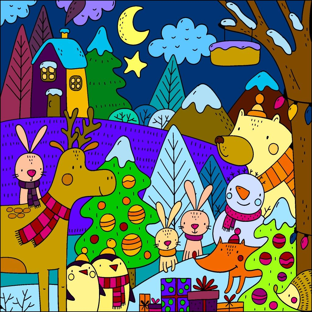Pin By Jose Warnaar On Disegni Puzzle Art Colorful Pictures Colorful Art