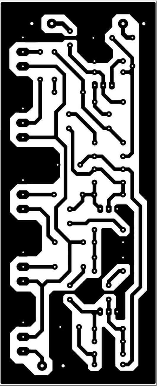 PCB Layout Equlizer 5 Channel | Notun | Pinterest | Layouts ...