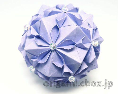 折り紙 簡単 くす玉 作り方 動画 解説