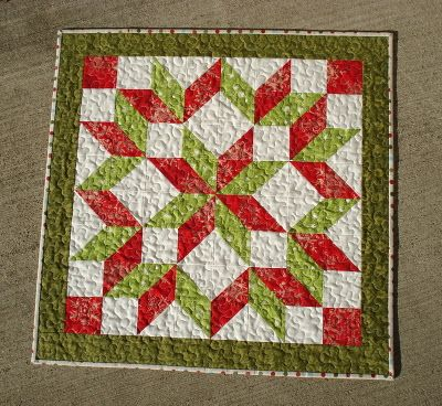 The Way I Sew It: Nick of Time...or Maybe Not. Wonder if I could make this into a tree skirt.