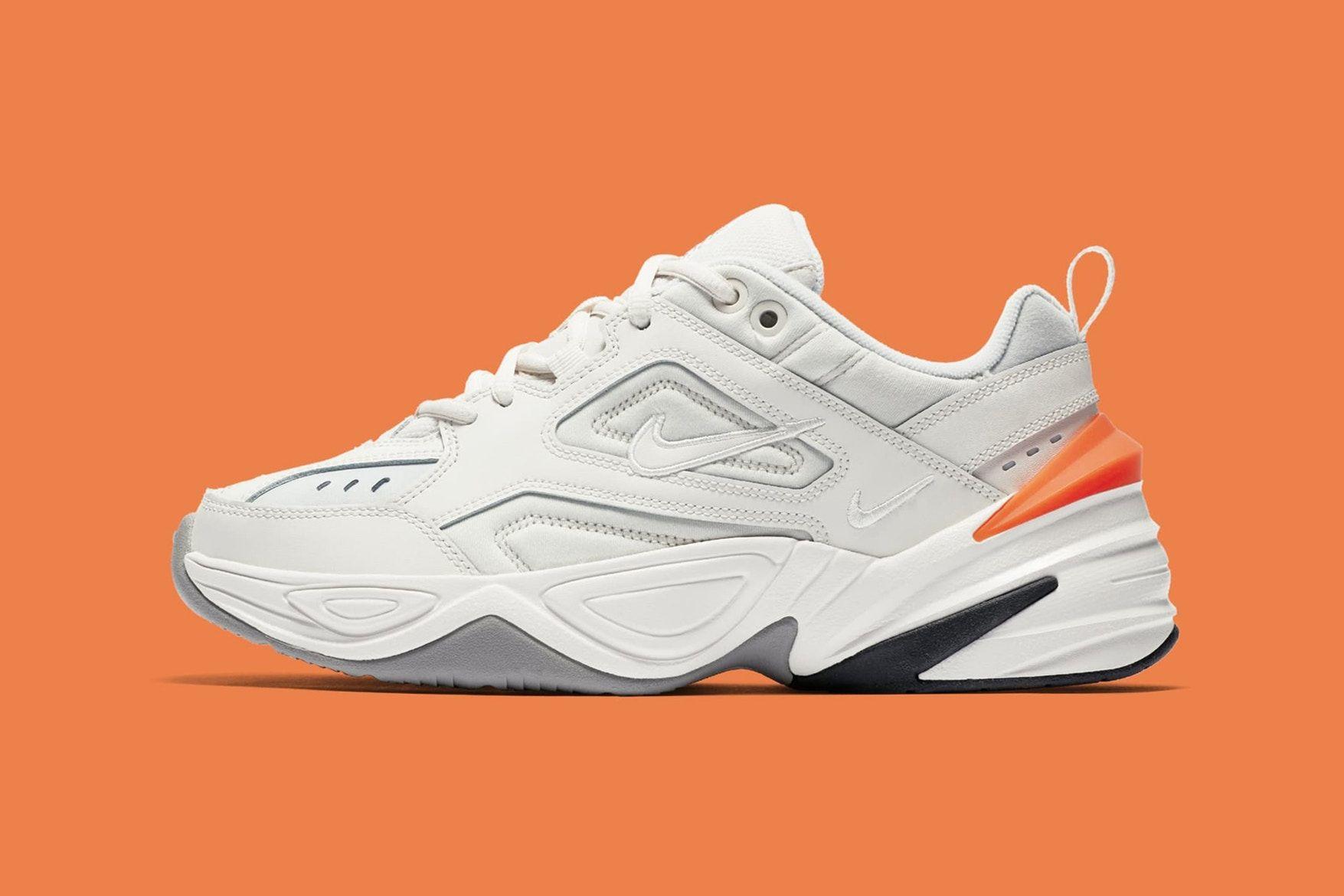 542abc16dd5acd Nike M2K Tekno WMNS Release date footwear may 19 2018 phantom oil hyper crimson  sneakers shoes footwear john elliott