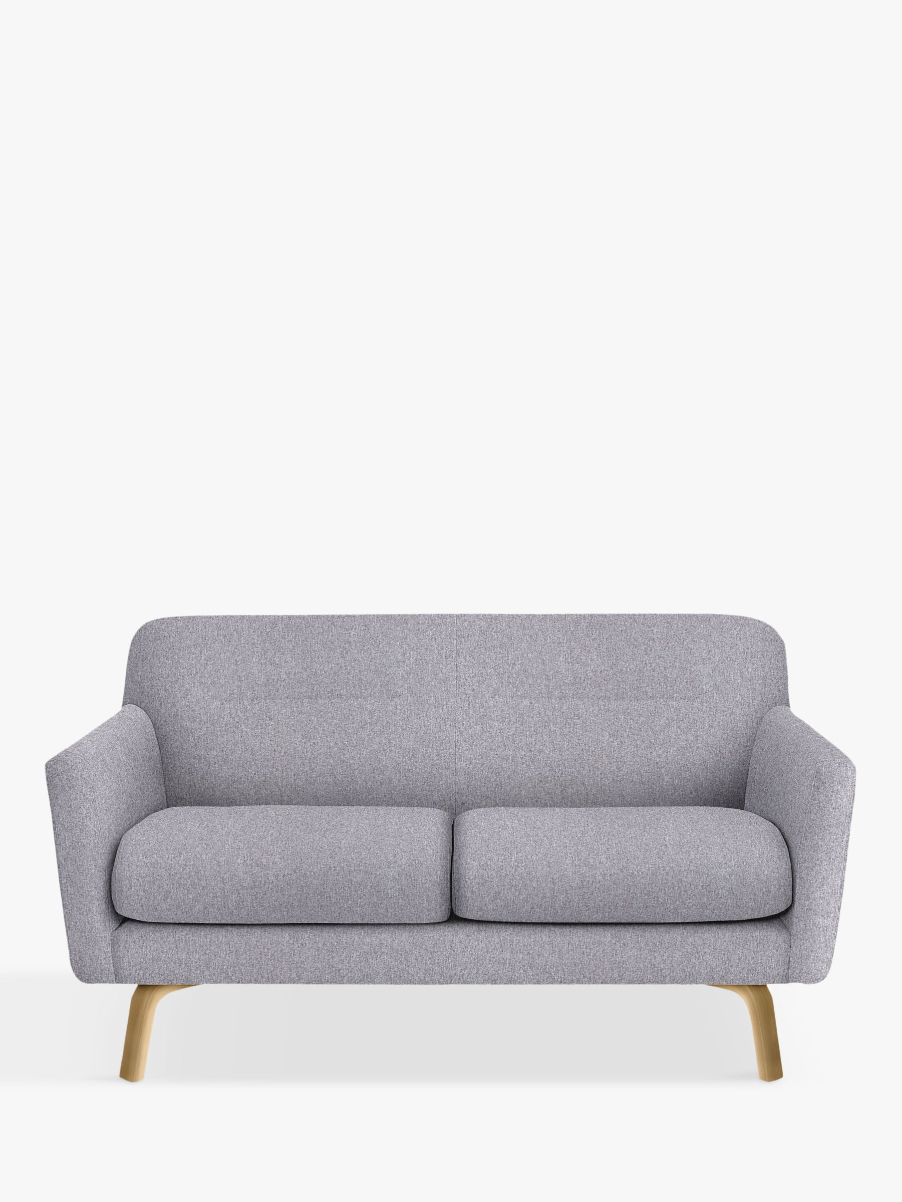 House By John Lewis Archie Ii Medium 2 Seater Sofa Light Leg 2 Seater Sofa Sofa Sofa Bed John Lewis