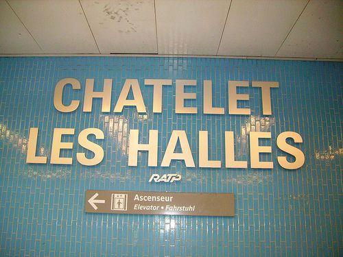 Chatelet Les Halles Chatelet Les Halles Paris Ascenseur