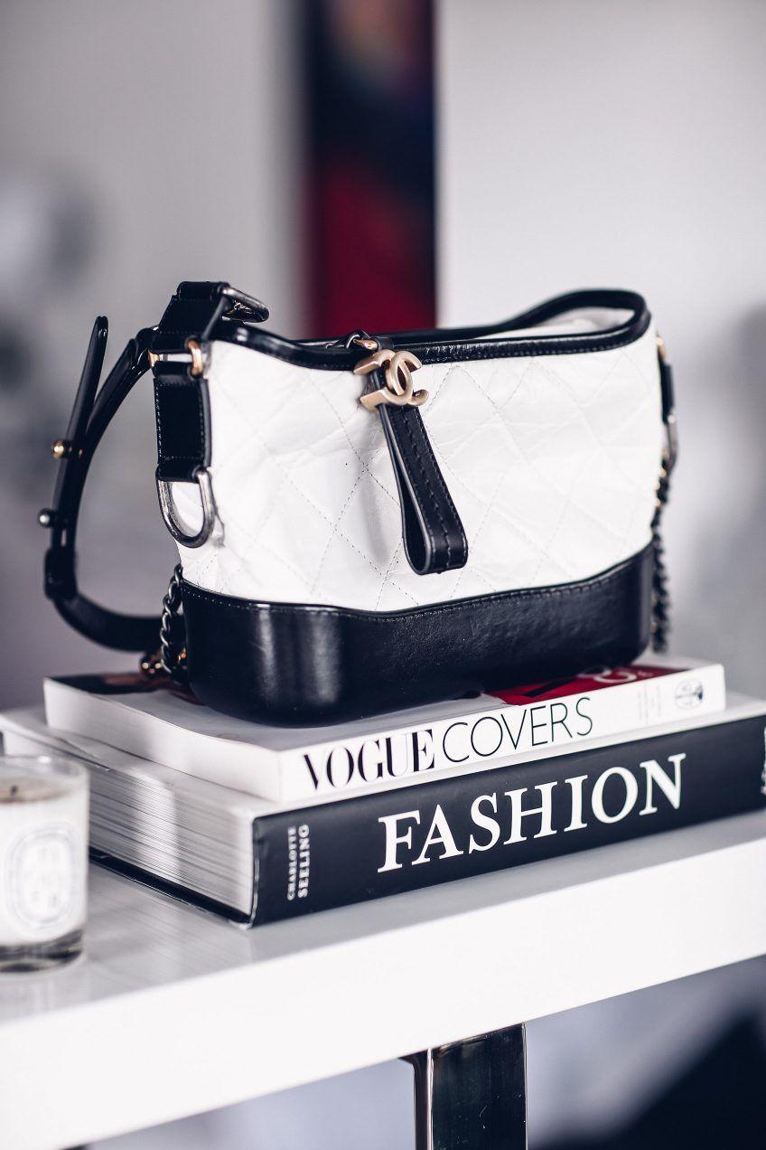910afd71cd01 A Peek Inside My Closet   Handbags   Chanel gabrielle bag, White ...