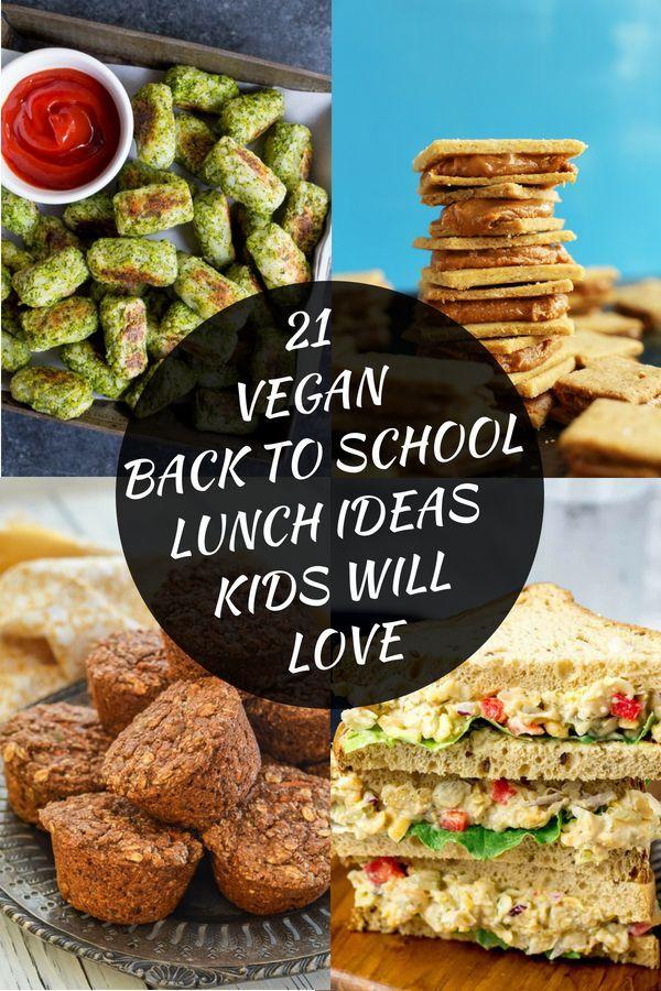 21 Vegan Back-To-School Lunch Ideas Kids Will Love